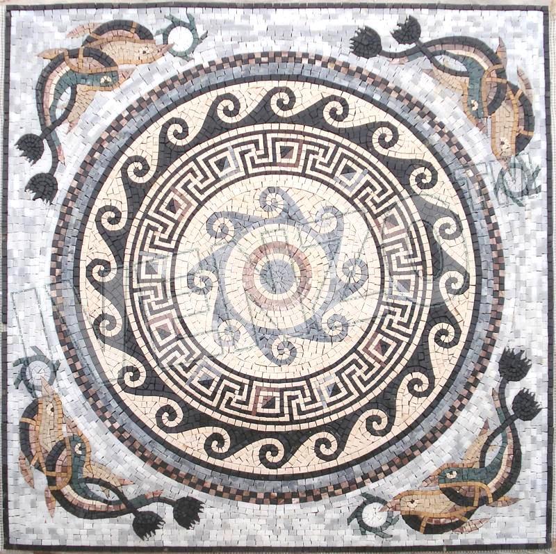 mosaik ck027 rmisches muster - Mosaik Muster