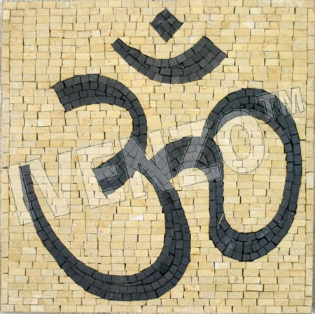 Mosaik IN166 Yoga Om (AUM)