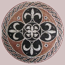 Mosaik Medallion